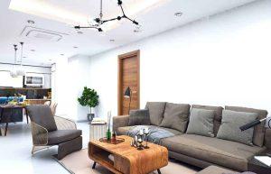 Sofabord med hylde opbevaring