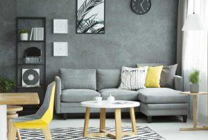 moderne indretning med sofabord