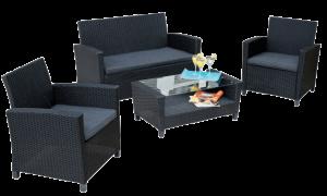 billigt lounge sofasæt med hynder