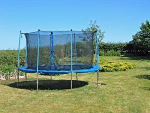 tilbud på trampoliner
