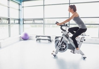 billige motionscykler - tilbud på kondicykel