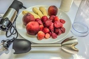 brug stavblenderen til frugt