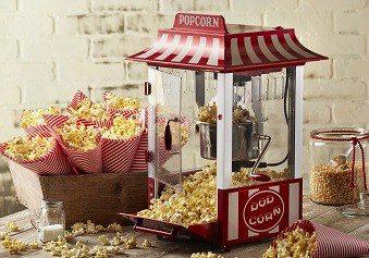 billig popcornmaskine på tilbud